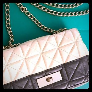 Kate Spade Quilted Two-Tone purse